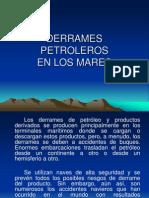 DERRAMES DE PETRÓLEO EN LOS MARES