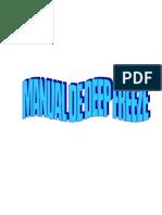 MANUAL DEEP FREEZER