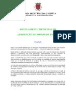 Proposta Regula Atribuicao Bolsas Estudo