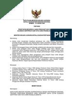 Keputusan Menteri Negara Agraria Kbpn Nomor 10 Tahun 1994 Ttg Penetapan Biaya Cetak Blangko Sertipikat Dan Pengelolaannya