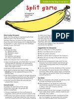 Primary Fairtrade Banana Split Game