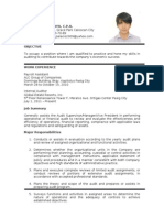 Resume LLC