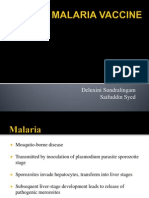 Malaria Vaccine Presentation by Deluxini and Said