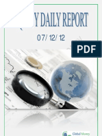 Daily Equity Report By Global Mount Money 7-12-2012