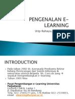 Pengenalan e Learning
