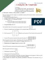 DM Maths *TS.Spé* L'énigme de l'orfèvre