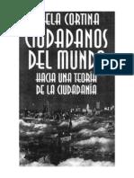 Ciudadanos Del Mundo, Adela Cortina