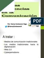 PONENCIA NUEVAS TENDENCIAS EN LA COMUNICACIÓN
