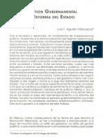 Gestión Gubernamental y Reforma del Estado