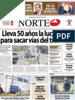 Periodico Norte de Ciudad Juárez 6 de Diciembre de 2012