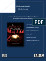 El Infierno de Gabriel - Reseña para Librosintinta.com.mx
