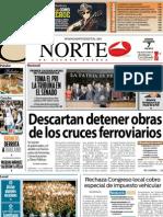 Periodico Norte de Ciudad Juárez 7 de Diciembre de 2012