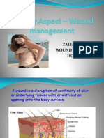 Nursing Aspect – Wound management
