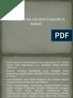TAMADUN ISLAM & TAMADUN BARAT