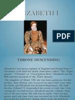 Elisabeth the first