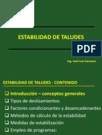 B Estabilidad de Taludes DMS 2012 0
