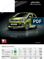 Kia Picanto Prijzen Specs 15042011