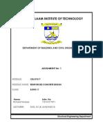Assignment 1 - Rcc