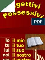 POSSESSIVI 01  01 Schema