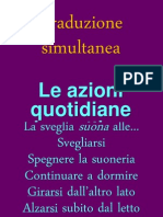 Traduzione Simultanea - Mattinata Verbi Presente Passpro