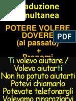 Traduzione Simultanea - Modali e Pronomi - Imperfett Passpro