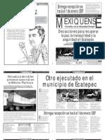 Versión impresa del periódico El mexiquense 6 de diciembre 2012