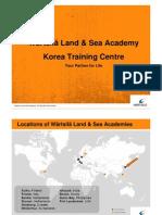 Wartsila Land & SEa Academy Korea Training Centre