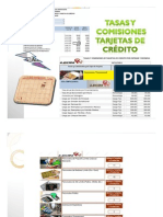 Tasas y Comisiones Tarjetas Banco León