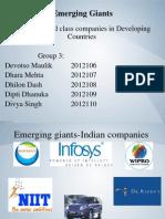 Emerging Giants