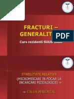 FRACTURI - GENERALITATI