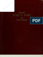 Negro Who's Who in California (1948)
