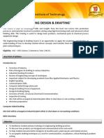 Engineering Design & Drafting(1 Year)