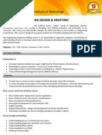Engineering Design & Drafting(2 YEAR)