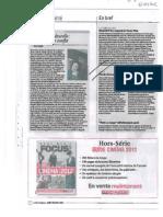 La Libre Belgique 06/12/2012