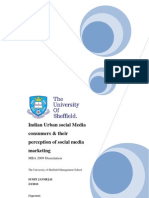 Dissertation- Social Media Marketing