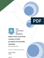 Dissertation- Social Media Marketing