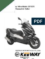 Manual de Taller Silver Blade EFI 125 CC