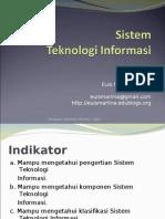 Materi 4 - Sistem Teknologi Informasi