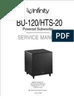 Infinity BU-120 Sub Woofer