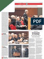 Chile intenta desvirtuar la tesis peruana sobre la inexistencia de tratado marítimo