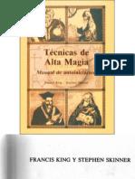 Francis King y Stephen Skinner _ Tecnicas de Alta Magia