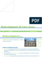 Redevelopment of Core Areas (3)