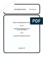 Third Road Improvement Project (Loan 866-LAO[SF])