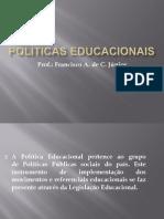 Apresentação de Políticas Educacionais