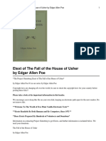 The Fall of the House of the Usher