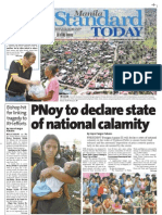 Manila Standard Today - Saturday (December 8, 2012) Issue