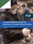 La Responsabilidad Extendida Del Productor en El Contexto Latinoamericano. Caso Argentina.