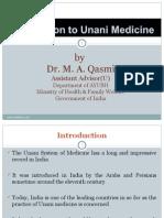 Unani Introduction