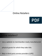 Online Reatilers