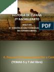 HISTORIA DE ESPAÑA TEMA 4